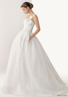 rosa clara 2013 bari ball gown wedding dress