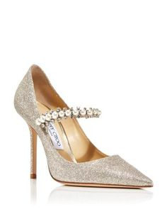 Bridal Heels, Wedding Shoes Heels, Bride Shoes, Sparkly Heels, Glitter Pumps, High Heels For Prom, Womens High Heels, Crazy Shoes, Fancy Shoes