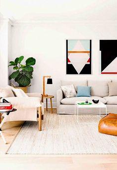 Designer's Take on our Living Room: {Justina Blakeney}