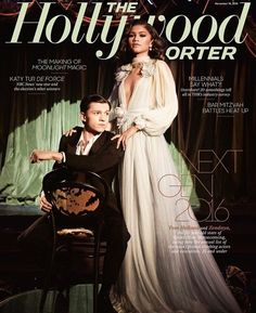 Tom Holland and Zendaya take the stage for the latest cover of The Hollywood Reporter. The Spider-Man: Homecoming stars connect with photographer David Needleman for the story. Borrowing from their backgrounds in dance, Holland and Zendaya Coleman, Infinity War, Kingston, Zendaya Photoshoot, Katy Tur, Tom Holland Zendaya, Spiderman, Zendaya Style, Zendaya Outfits