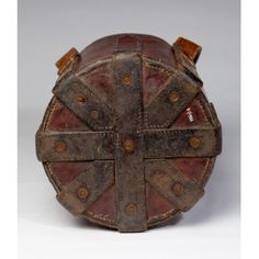 Bucket (base). c.1920. Walsall Leather Mus.