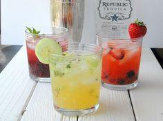Summer 'Freestyle' Margaritas by Boulder Locavore