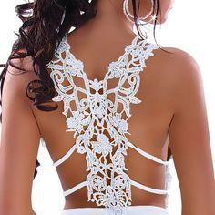 White Sexy lace T-shirt ($25)