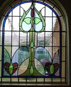 Leaded glass windows are amazing!