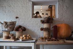 Исторический дизайн пекарни с доиндустриальным производством, Великобритания