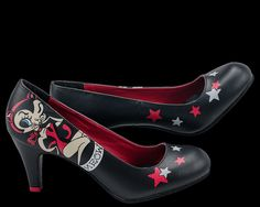 Mitch O'Connell Meow Kitty Anti Pop Heel - T.U.K. Shoes | T.U.K. Shoes