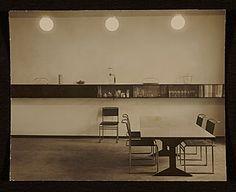 [Speisezimmer apartment, Berlin, Germany, designed by Marcel Breuer. Interior view]