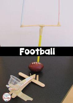 STEM Challenge: Build a football goalpost and a kicker!