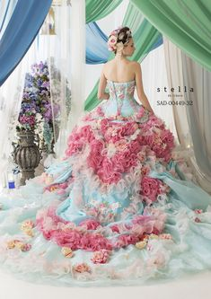 Looks like a dress from Wonderland! I have a soft spot in my heart for Stella de Libero dresses! magical confections!