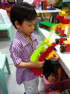 Happy kid ;)