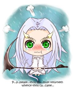 Dark Souls - Chibi Priscilla by iforher on DeviantArt