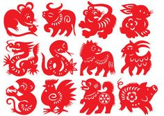 zodiac   Most Chinese New Year paintings of blessings are drawings of objects ...