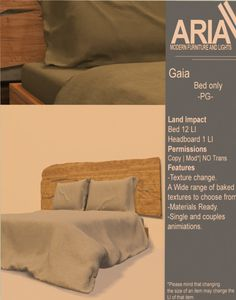 [ARIA] Gaia bed -PG-