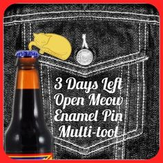 #Repost @heremeow  Stocking Stuffer Alert (Link in my bio) Only 3 days left to support my Kickstarter campaign for Open Meow. It's a bottle opener ruler pin (for opening things) and kitty friend all in one! Also includes a unique adoption certificate with a name for your cat. I only need 2 more backers to get these here in time for Xmas!  #kickstagram #kickstarter #ilovecats #catstagram #catlover #cats_of_instagram #catsofinstagram #catgifts #enamelpin #pinstagram #pinsofig #stockingstuffers…