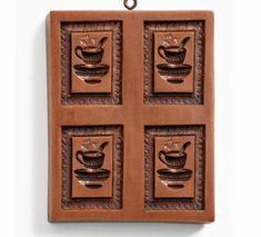 Gingerhaus® Springerle Gingerbread Coffee Break Mold