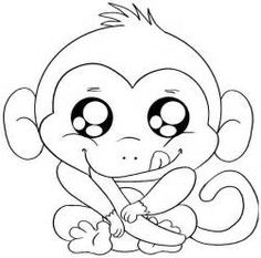 free coloring pages to print yahoo image search results - Coloring Pages Monkeys Print
