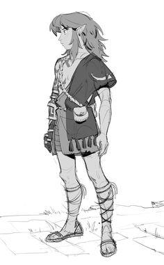 The Legend Of Zelda, Legend Of Zelda Memes, Character Concept, Character Art, Character Design, Breath Of The Wild, Resident Evil, Botw Zelda, Nerd