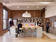 airbnb's portland office offers a diverse range of working environments