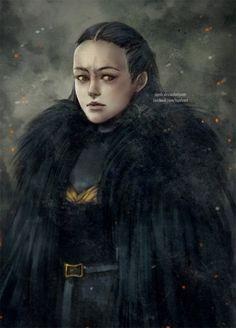 Lyanna Mormont by NanFe.deviantart.com on @DeviantArt