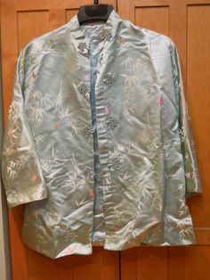 Vintage I Magnin Silk Brocade  Chinese Asian style jacket size S/M in Clothing, Shoes & Accessories, Vintage, Women's Vintage Clothing | eBay!