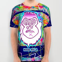 Hood Rilla is a character created by Fashion Designer and Pop Artist - Bwilly Bwightt
