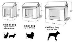 projetos para casa de cachorro - Pesquisa Google