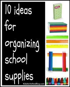 how to organize scho
