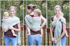 How to do a Back Carry in a Ring Sling [ Comfy Joey Newborn Wool Ring Sling Review]: