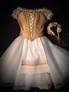 """Coppelia"" Costume - by Heather Lerma Cute Dance Costumes, Tutu Costumes, Ballet Costumes, Ballet Wear, Ballet Tutu, Ballet Russe, Ballerina Dress, Russian Ballet, Ballet Fashion"