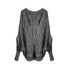 Spring Autumn 6Colors Coarse Wool Cardigans Women Brand Fashion Full Batwing Sleeve Sweaters Casual Women Clothing