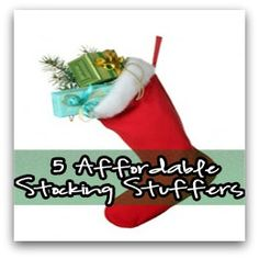 5 Affordable Stocking Stuffers I Can't Live Without #christmas