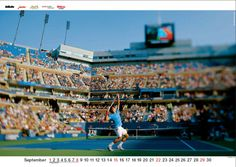Roger Federer – jeden Monat neu in deinem Wohnzimmer!  #Roger #Federer #RogerFederer # Kalender Roger Federer, Monat, Soccer, Sports, Sitting Rooms, Hs Sports, Futbol, Soccer Ball, Excercise
