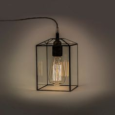 Height of shade 18 cm (7,1) Diameter of shade 12 cm (4,7)  Beautiful and simple clear glass lampshade. It is handmade lamp, terratium style. It can be