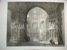 Chapel of the Constable Painting, Burgos Cathedral, Spain