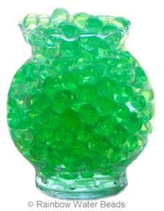 Green Water Beads