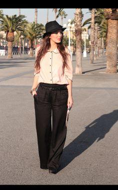 Moda en la calle en Barcelona: Uterque