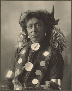 Assiniboine. Cloud Man. North Dakota. 1898