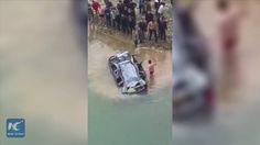 8 people were killed after a van fell into a river in southwest China's Guizhou Province. The driver took his family and relatives in the van to a neighboring county, as it hit the bridge guardrail and fell.