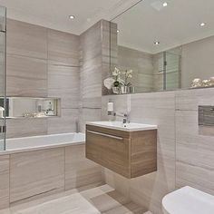 57 bathroom inspiration modern small ideas 50 - Home Design Ideas Bathroom Design Luxury, Bathroom Layout, Modern Bathroom Design, Bathroom Designs, Bathroom Ideas, Modern White Bathroom, Cozy Bathroom, Bathtub Ideas, Modern Shower