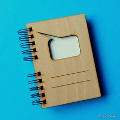 "handmade bookbinding / Zápisník \""Comixová bublina\"""