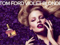 Lara Stone For Tom Ford Fragrance Violet Blonde #TomFord
