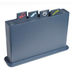 Joseph Joseph Index Chopping Board Set in graphite- at Debenhams Mobile