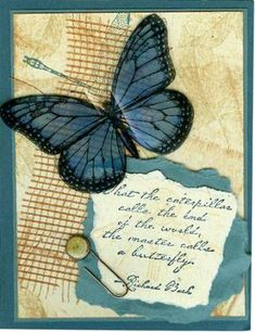 using Stampin Up Wonderful Wings