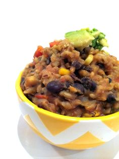 Super Easy Mexican Crockpot Casserole | Hummusapien