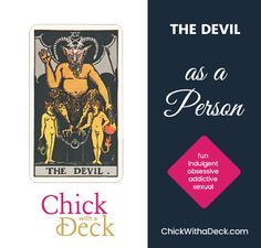 If you pull The Devil as feelings, this person likely feels a very strong sexual attraction to the other person. They feel tempted. Tarot Meanings, Tarot Cards, Devil, Lust, Meant To Be, Bond, Positivity, Feelings, Attraction