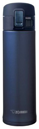 Zojirushi SM-KHE48AG Stainless Steel Mug, 16oz, Smoky Blue | Free Shipping
