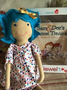 A new kind of doll for kids with cancer and kids who care