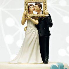 Tortendeko Brautpaar im Rahmen - 39,95€