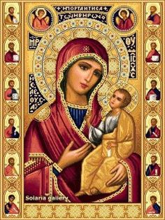 rhinestones diamond embroidery religion Picture - More Detailed Picture about Picture Rhinestones Diamond Embroidery Religion DIY Diamond Painting Pattern Mosaic Icon Beads Embroidery Kit decoration Picture in Diamond Painting Cross Stitch from MATRESHK Divine Mother, Blessed Mother Mary, Blessed Virgin Mary, Religious Images, Religious Icons, Religious Art, Immaculée Conception, Christian Artwork, Queen Of Heaven