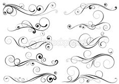 calligraphy swirls and designs | Search for stock photos, illustrations, video, audio and editorial ...